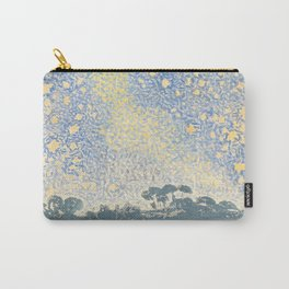 Landscape with Stars by Henri-Edmond Cross 1905–1908, French Carry-All Pouch