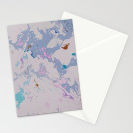 Cotton Candy 90's style Stationery Cards