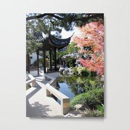 Japanese Gardens Portland Oregon Metal Print