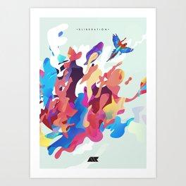 .ELIBERATION. Art Print