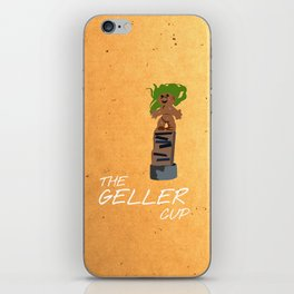Friends 20th - Geller Cup iPhone Skin