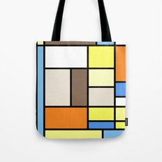 The Colors of / Mondrian Series - To toro - Miyazaki Tote Bag