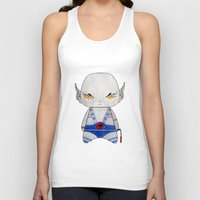 thundercats Tank Tops featuring A Boy - Panthro (Thundercats) by Christophe Chiozzi