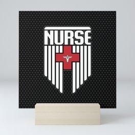 Nurse Shield Mini Art Print