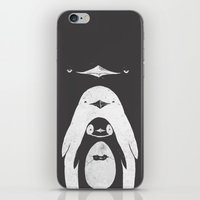 iPhone & iPod Skins featuring Penguinception by Darel Seow