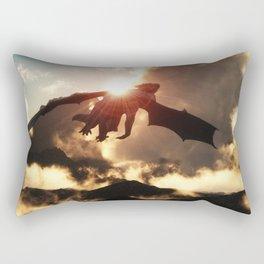 Volcanoes - Home of the Dragons Rectangular Pillow