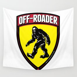 Adventure Badge Wall Tapestry
