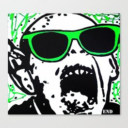 Horror and Tabloid Icon Bat kid Canvas Print