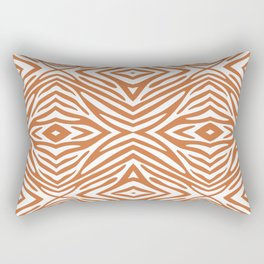 Zest Neutral Zebra Rectangular Pillow