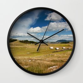 Montenegros Beauty Wall Clock