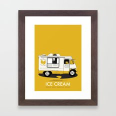 Raekwon of Wu-Tang - Ice Cream Framed Art Print