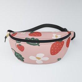 Strawberry Fields Fanny Pack