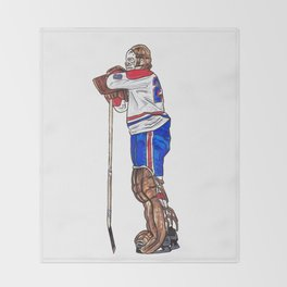 Dryden - The Pose Throw Blanket