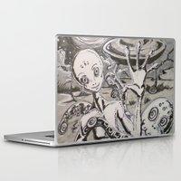 alien Laptop & iPad Skins featuring Alien by Ju.jo.weh