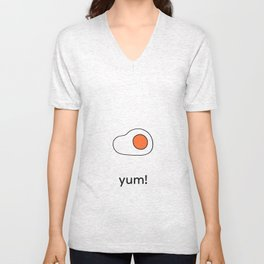 yum! egg Unisex V-Neck