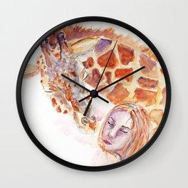 Simple kiss Wall Clock