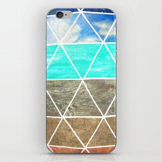 Elemental Geodesic  iPhone & iPod Skin