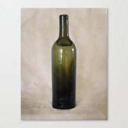Vintage Glass Bottle Canvas Print