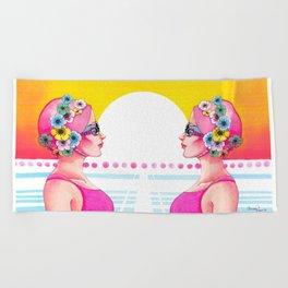Synchronized Beach Towel