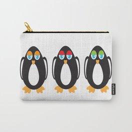 Nonchalant Penguins Carry-All Pouch
