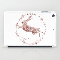 hare iPad Cases featuring Hare by Danse de Lune
