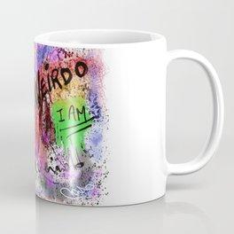 Metaphysical Penguin I AM A WEIRDO Coffee Mug