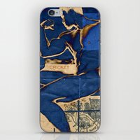 muscle iPhone & iPod Skins featuring Muscle. by Azure Cricket