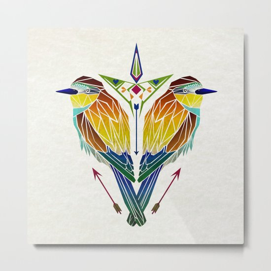 birds love Metal Print