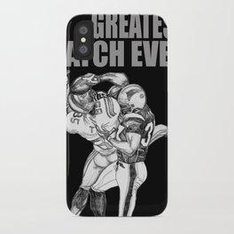 GREATEST CATCH EVER iPhone Case