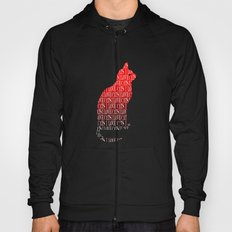 Love Cats Red Hoody
