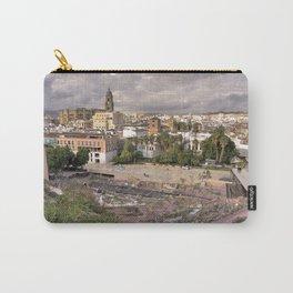 Malaga Amphipheatre Cityscape Carry-All Pouch