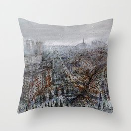 Chernobyl - Prypiat Throw Pillow