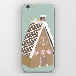 Gingerbread House iPhone Skin