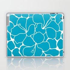 Hibiscus Animal: Caribbean Blue Laptop & iPad Skin
