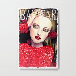 Harper's Bazaar Metal Print