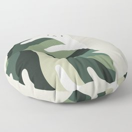 Cat and Plant 12B Floor Pillow