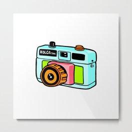 Holga camera Metal Print
