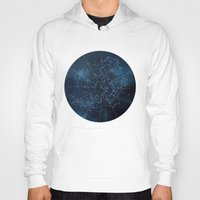 celestial Hoodies featuring Celestial Map by Rose's Creation