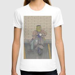 Frankenstein Scooter T-shirt
