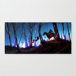 Unsung Hero - The Twilight Bark Canvas Print