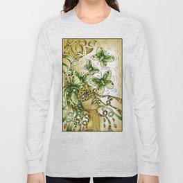 Alexandrite Gem Long Sleeve T-shirt