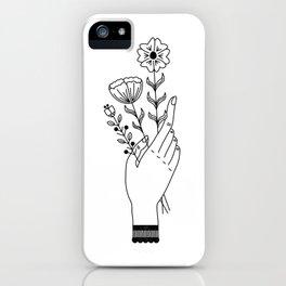 Flower Picking iPhone Case
