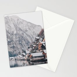 VILLAGE - COAST - MOUNTAINS - SNOW - PHOTOGRAPHY Stationery Cards
