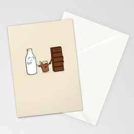 Milk + Chocolate Stationery Cards