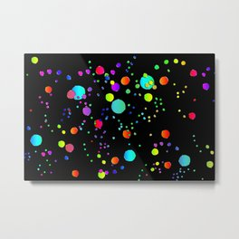 Astract colorful bubbles 141 Metal Print