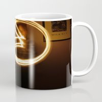 pacman Mugs featuring Pacman by Audrey's Photography