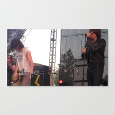 Julian and Nick - The Strokes Canvas Print