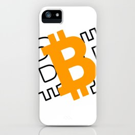 Bitcoin 16 iPhone Case