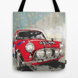mini racer Tote Bag