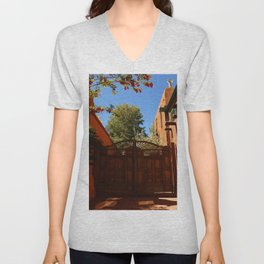 A New Mexico Entrance Unisex V-Neck
